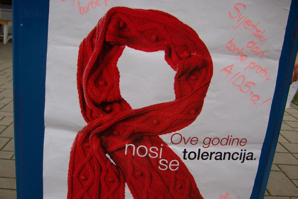 Obilježavanje svjetskog dana borbe protiv AIDS-a – 1. prosinca