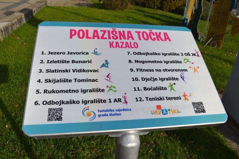 """Sportsko-rekreativni turizam u Slatini kroz projekt """"Sport 2be"""" obogaćen novim sadržajima"""