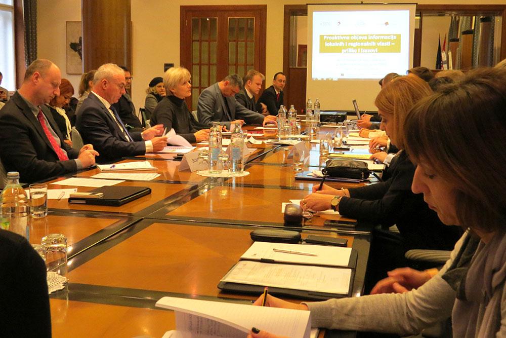 Hrvatska zajednica županija: Otvorenost podataka i transparentnost preduvjeti su odgovorne vlasti