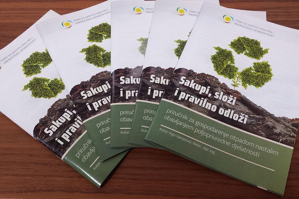Sakupi, složi i pravilno odloži: Najava edukacija za poljoprivrednike o pravilnom gospodarenju otpadom