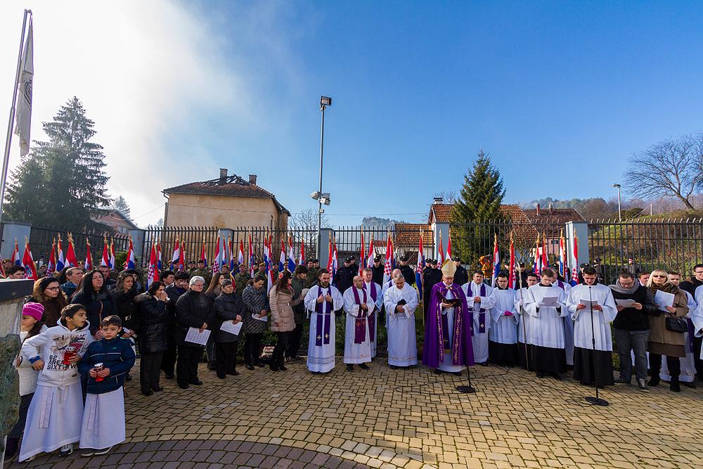 FOTO: Mnoštvo hodočasnika na 7. hodočašću hrvatskih branitelja, vojske i policije Gospi Voćinskoj