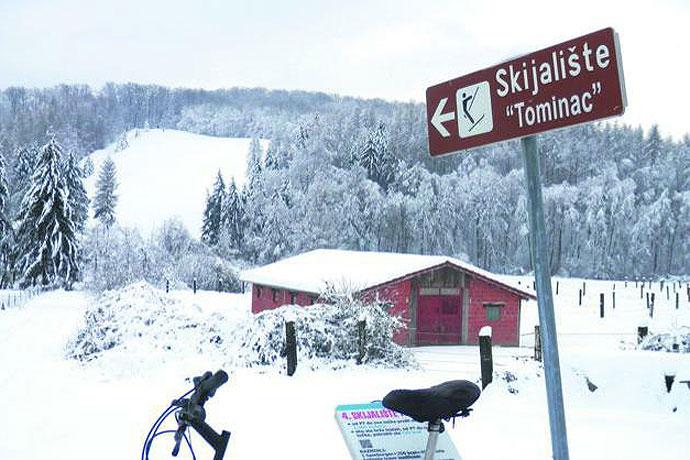 FOTO: Slatinsko skijalište Tominac otvoreno za sve ljubitelje zimskih radosti