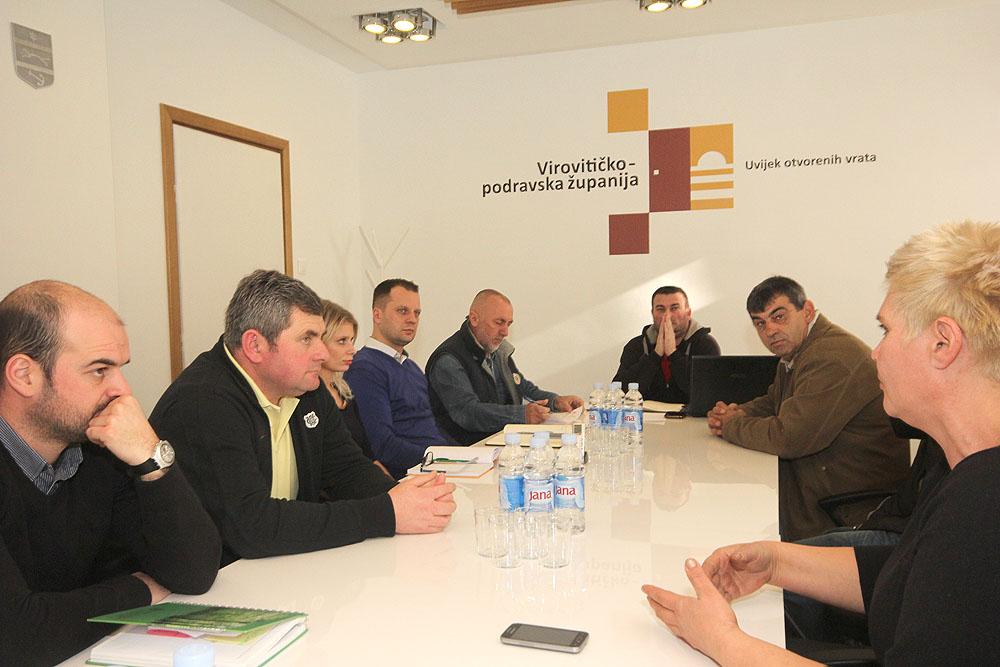 """U Virovitici održan sastanak Upravnog odbora Proizvođačke organizacije u sektoru mljekarstva """"Mliječni put Hrvatske"""""""