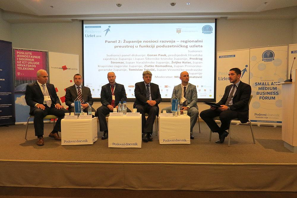 Županije – nosioci razvoja: Decentralizacija je nužan faktor za regionalni razvoj Republike Hrvatske
