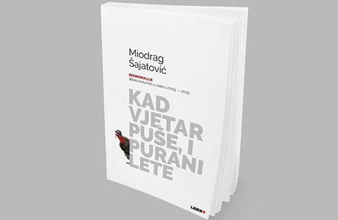 """Promocija knjige Miodraga Šajatovića """"Kad vjetar puše, i purani lete"""", 26. siječnja u Virovitici"""