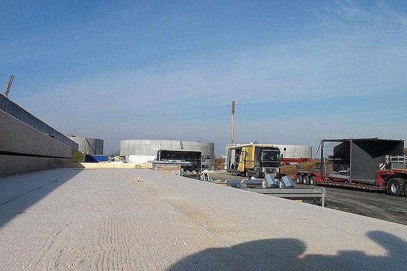 FOTO: Radovi na izgradnji bioplinske elektrane u Slatini, vrijedne sedam milijuna eura, u punom su jeku