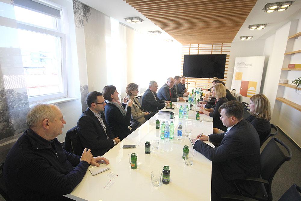 Delegacija Zagrebačke županije u radnom posjetu Virovitičko-podravskoj županiji