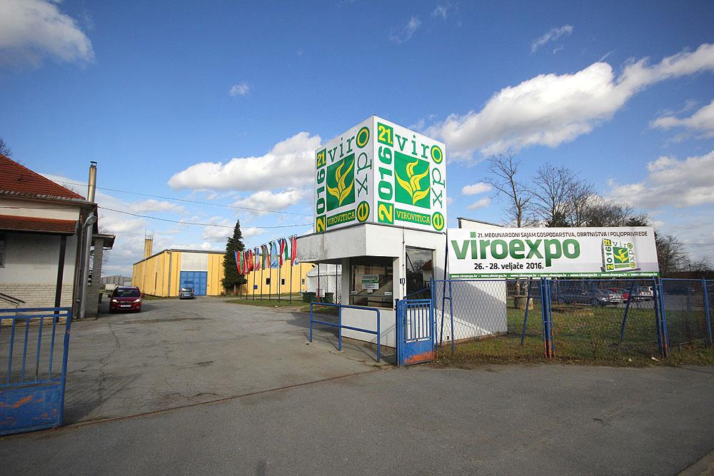 FOTO: U tijeku su završne pripreme za 21. međunarodni sajam Viroexpo koji se od 26. do 28. veljače održava u Virovitici