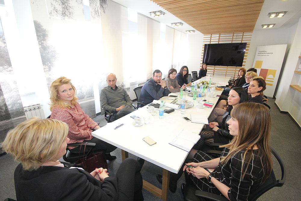 U Virovitici održan sastanak s predsjednicom Hrvatskog društva kulturnog turizma Jesenkom Ricl