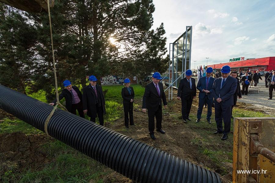 """Otvoreni radovi na provedbi EU projekta """"Poboljšanje vodnokomunalne infrastrukture aglomeracije Virovitica"""""""