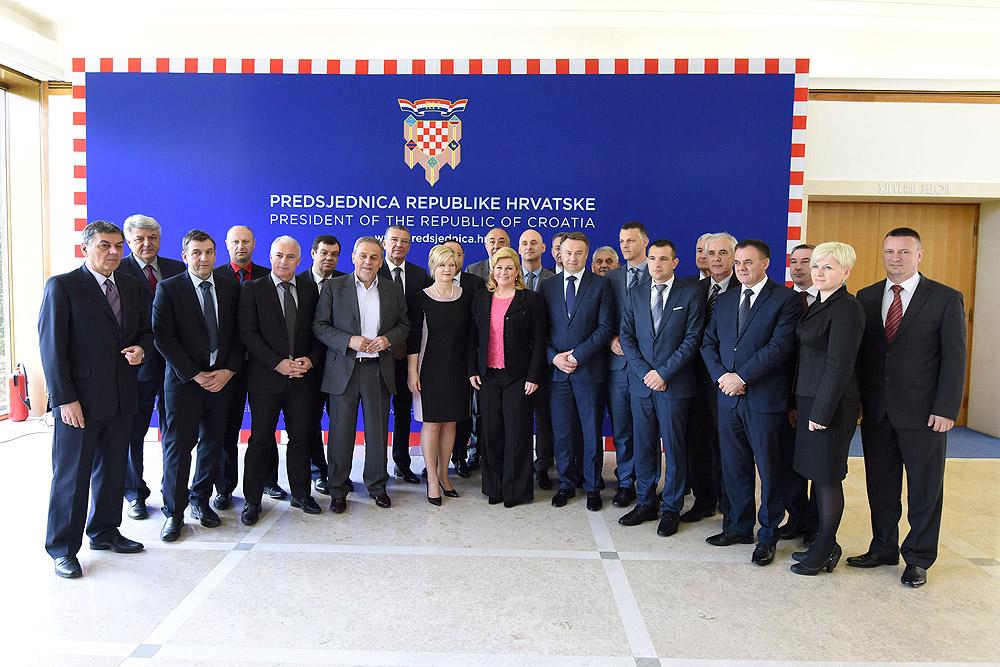 Kolinda Grabar-Kitarović: 'Sadašnji ustroj županija je dobar sustav i on treba ostati'