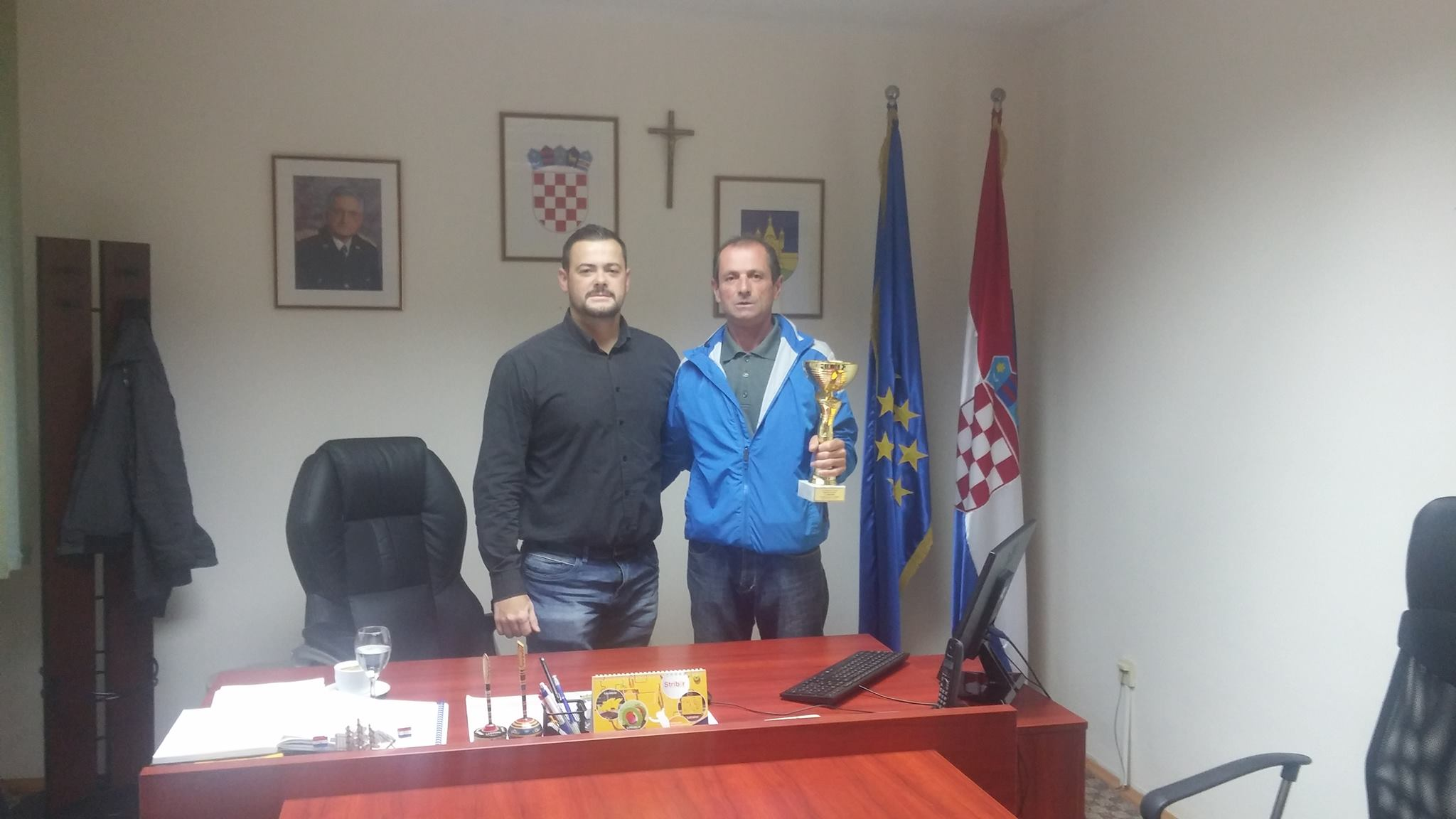 Načelnik Općine Suhopolje primio državnog prvaka Radivoja Rekića