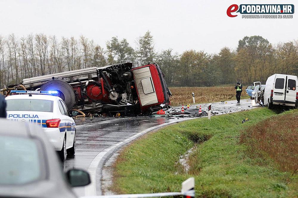 U stravičnoj prometnoj nesreći kod Đurđevca je poginuo vijećnik Općinskog vijeća Špišić Bukovica Marinko Komar
