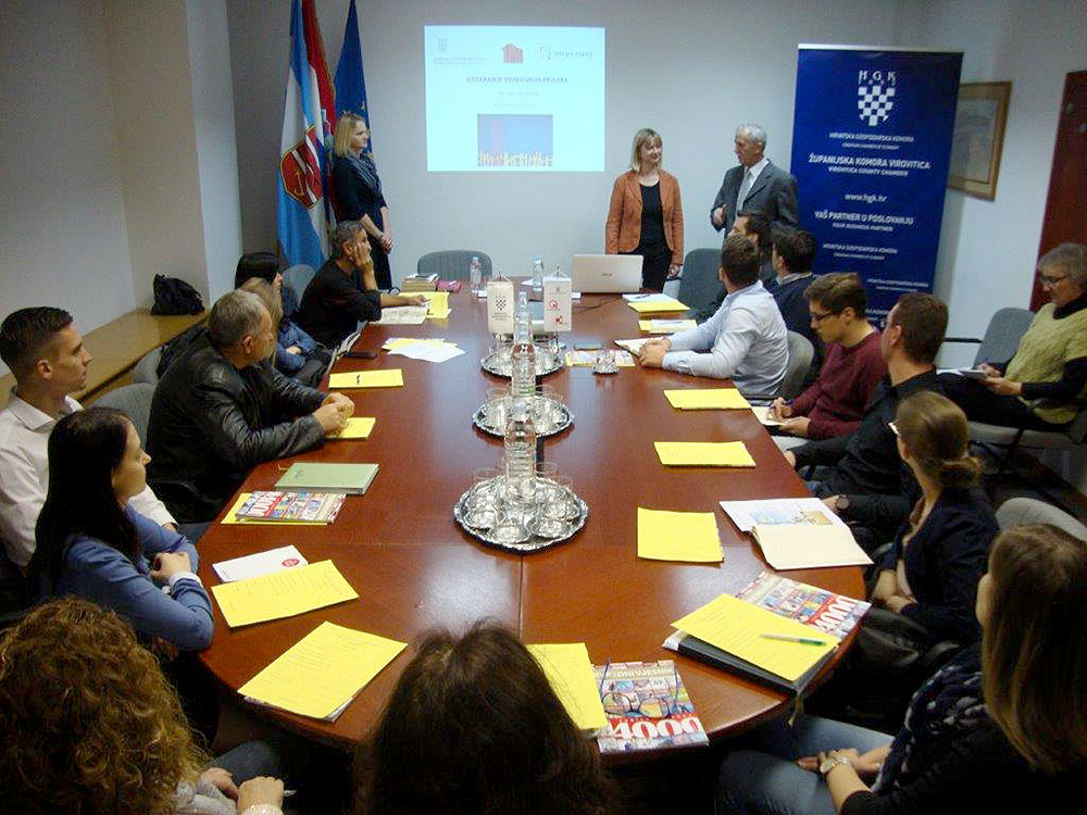 Održana radionica: Otvaranje poslovnih prilika – vještine uspješnog komuniciranja u HGK – Županijskoj komori Virovitica