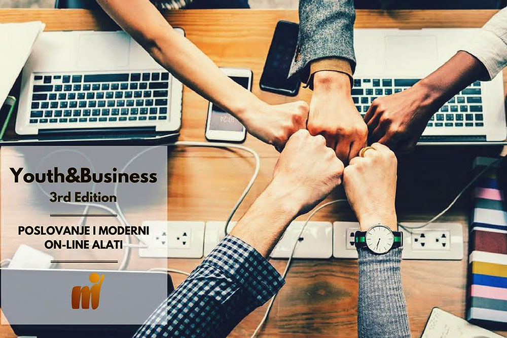 Kako se i iz male sredine mogu raditi velike stvari: Youth&Business – Poslovanje i moderni on-line alati u Caffe baru Škola u utorak 22. svibnja