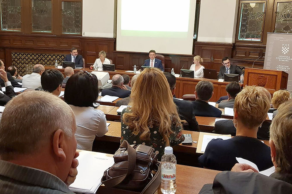 Održana 9. sjednica skupštine Hrvatske gospodarske komore u Zagrebu