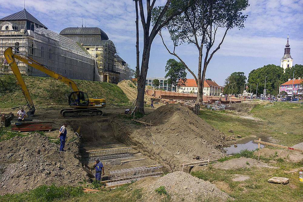 Jedan most, jedna priča: Grade se temelji, otkrijte kako će izgledati novi mostovi u virovitičkom parku