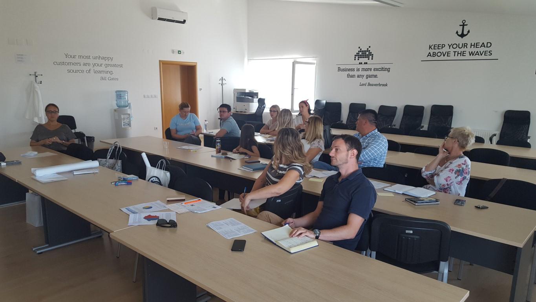 U Poduzetničkom inkubatoru održana prva radionica radne skupine za reviziju Strategije razvoja ljudskih potencijala VPŽ