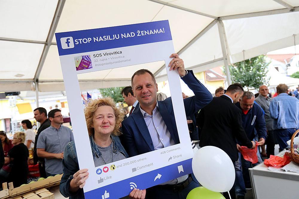 U Virovitici obilježen Nacionalni dan borbe protiv nasilja nad ženama, a podržao ga je i župan Igor Andrović