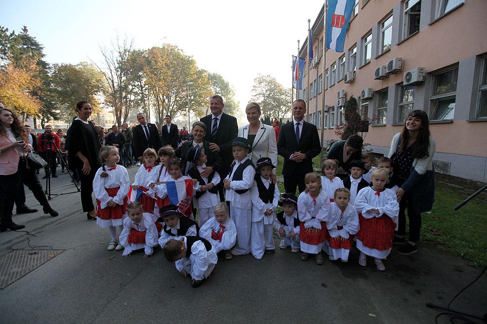 Fotogalerija: Predsjednica Republika Hrvatske Kolinda Grabar-Kitarović u posjeti Virovitičko-podravskoj županiji
