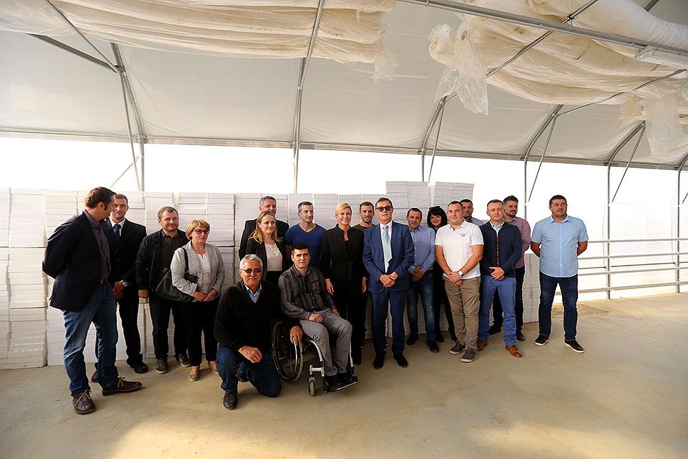 Predsjednica RH obišla Branu d.o.o., uspješnu virovitičku tvrtku koja se s domaćeg tržišta širi i na europsko
