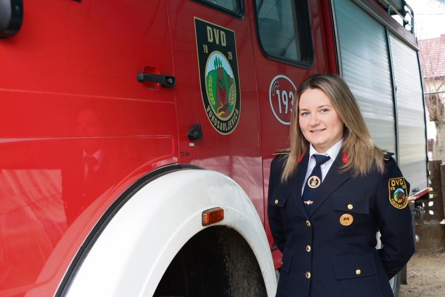 Upoznajte Mariju Komar, prvu predsjednicu Vatrogasne zajednice Špišić Bukovice u povijesti i jedinu u našoj županiji: Otac mi je uzor, a i moj suprug će biti – vatrogasac