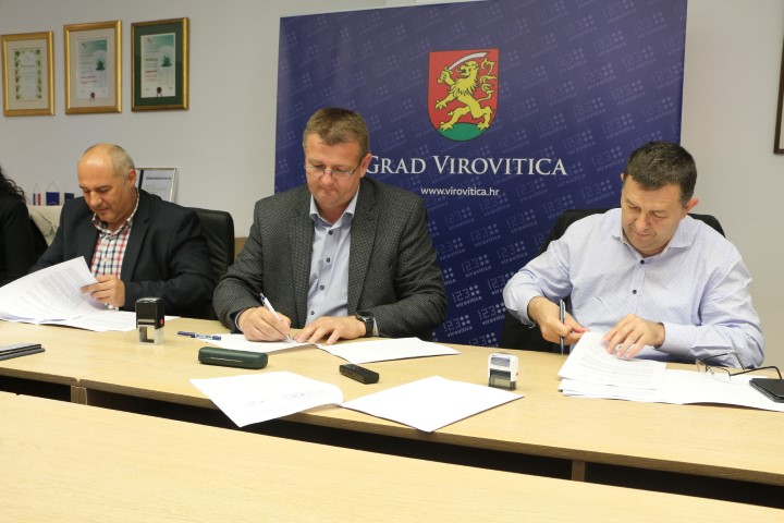 Potpisan ugovor za energetsku obnovu virovitičkog Centra kulture, ušteda toplinske energije bit će 73,5 posto