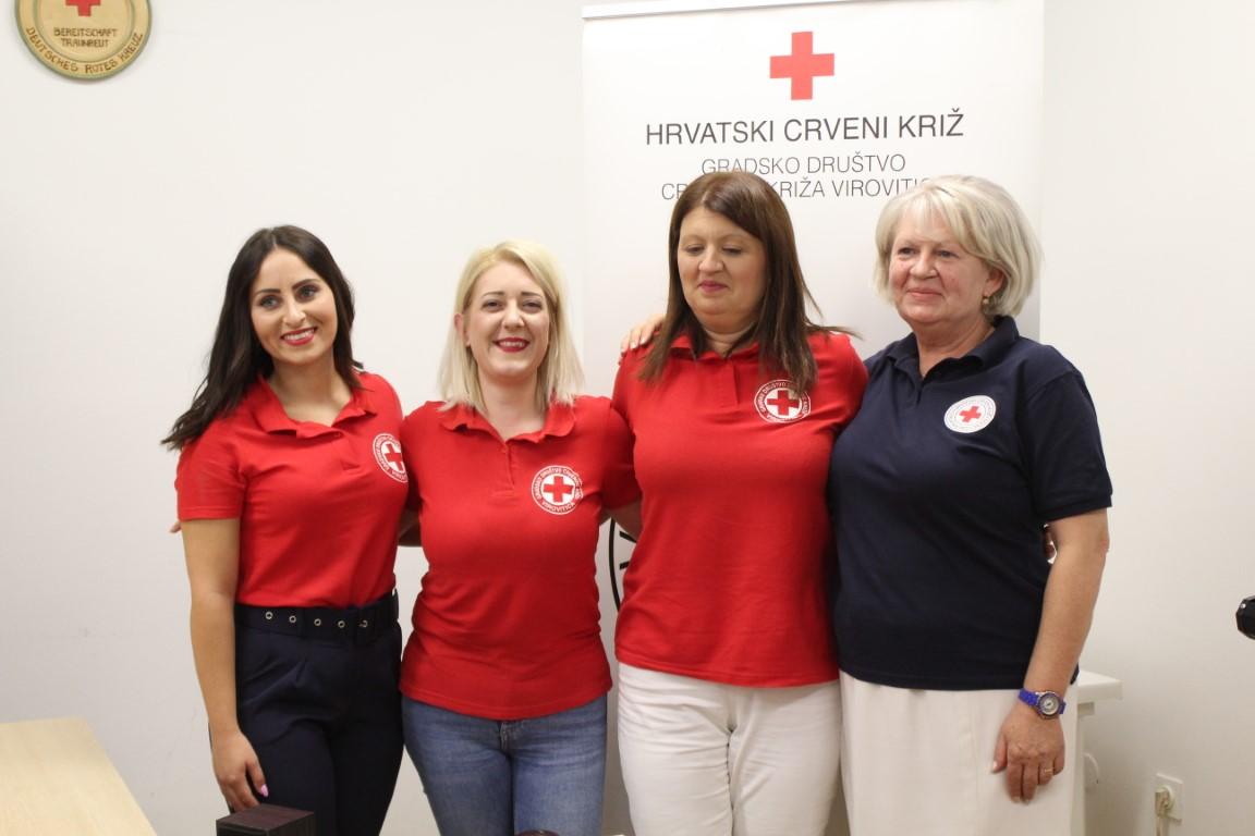 """U Gradskom društvu Crvenog križa Virovitica održana završna konferencija projekta """"Darujmo vrijeme za dobra djela"""""""