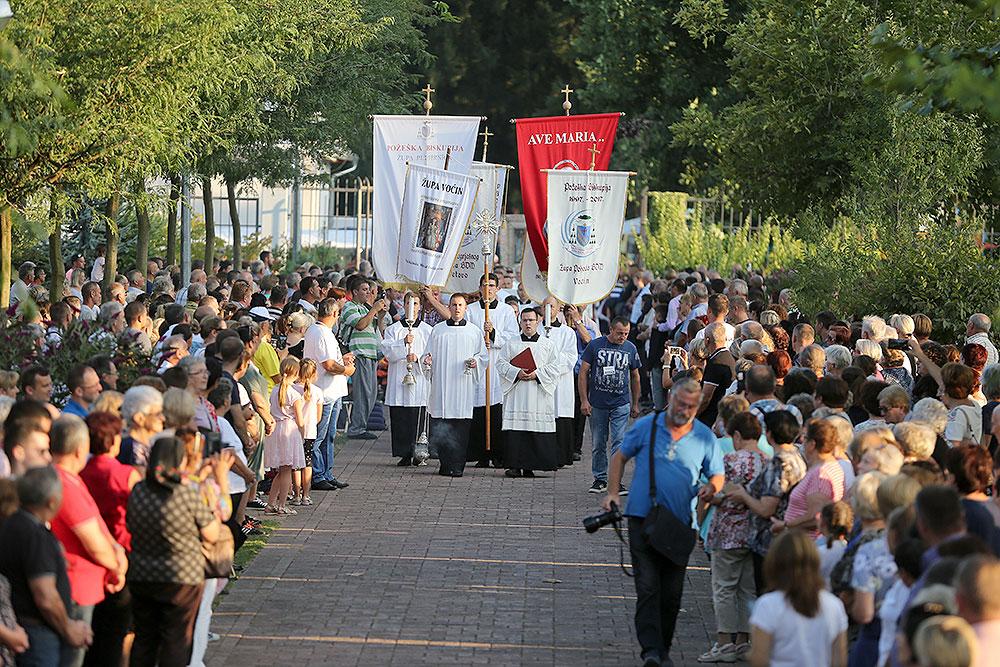 Fotogalerija: U Voćinu je uz više od 15.000 hodočasnika proslavljen blagdan Gospe Voćinske