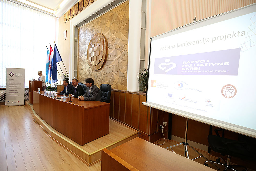 "Počela provedba projekta ""Razvoj palijativne skrbi u Virovitičko-podravskoj županiji"": Cilj je poboljšati skrb za bolesnike s neizlječivim bolestima"