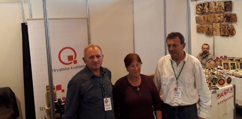 Izlagači s područja Virovitičko-podravske županije predstavili se na 17. Gospodarskom sajmu sira u Grubišnom Polju