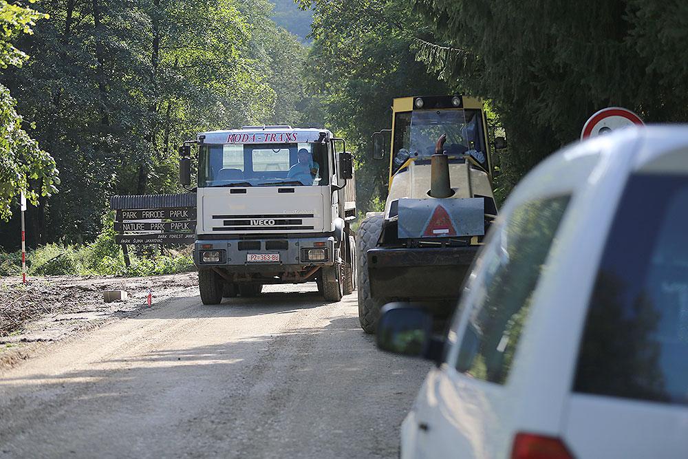 Do 31. prosinca kamionima ukupne mase iznad 7,5 tona STOP na dionici ceste Slatinski Drenovac – Jankovac – granica VPŽ