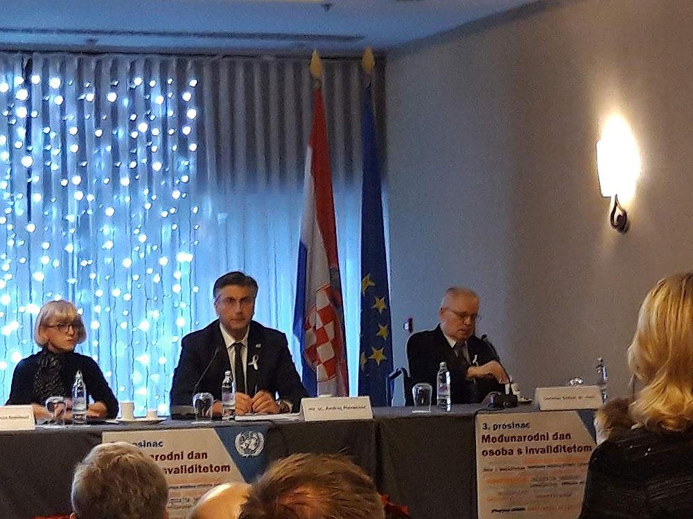 UOSI Slatina u Zagrebu prisustvovala svečanosti obilježavanja Međunarodnog dana osoba s invaliditetom