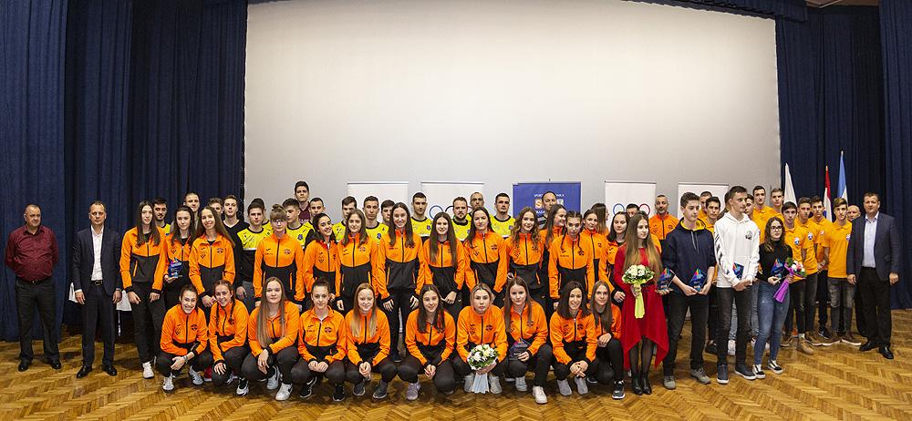 Sara Malčec i Luka Moslavac su najbolji sportaši grada Virovitice, ekipno kod seniora slavili su 1234 Virovitica i Viro Virovitica