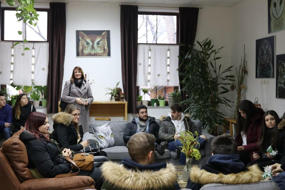 Fotogalerija: Profesori i studenti Ekonomskog fakulteta iz Osijeka posjetili Dravsku priču