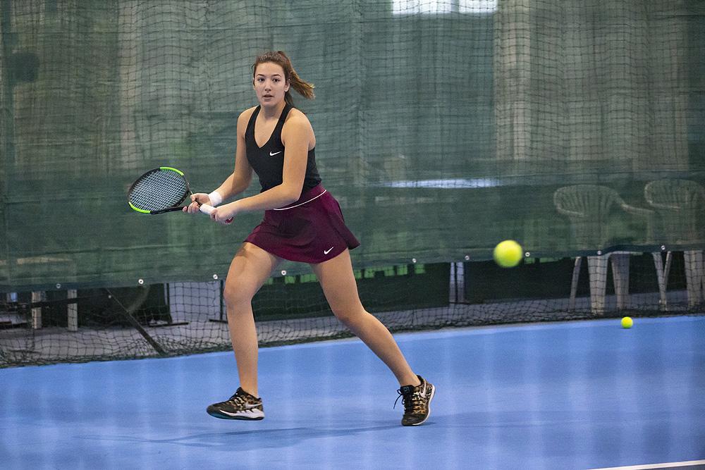 Fotogalerija: U Virovitici se održava dvoransko prvenstvo Hrvatske u tenisu za seniorke na kojem se 25 tenisačica i 8 parova bore se za naslov