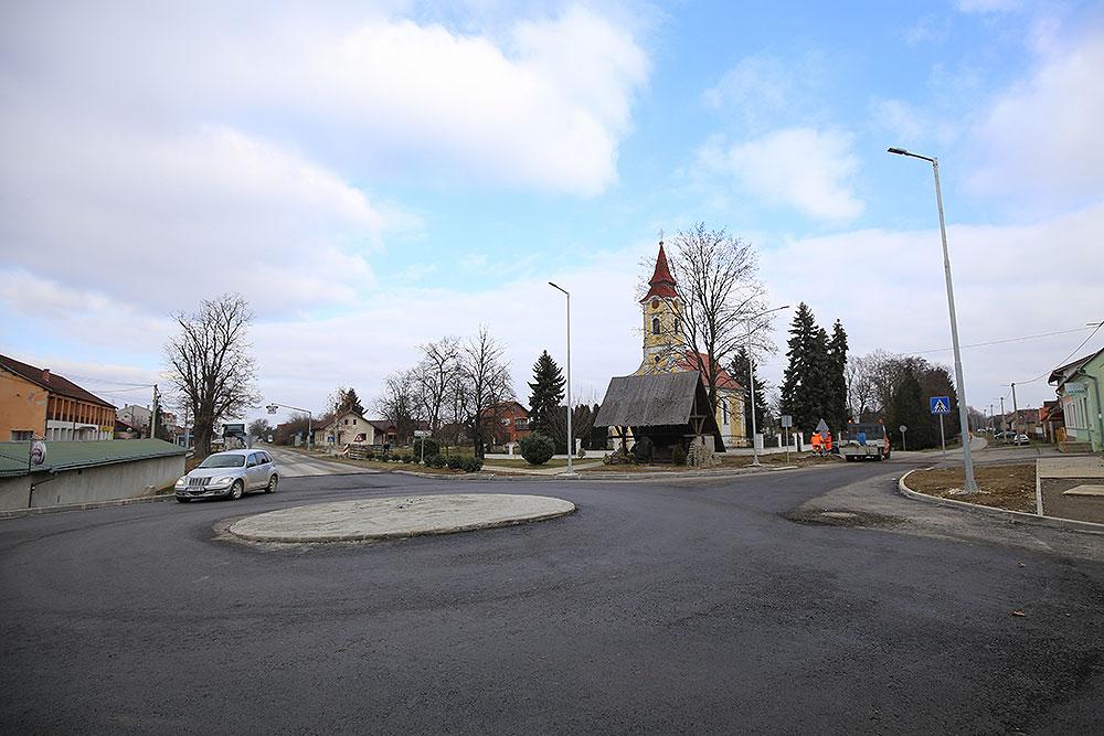 Poboljšanje sigurnosti sudionika u prometu: Zdenci u središtu naselja dobivaju kružni tok
