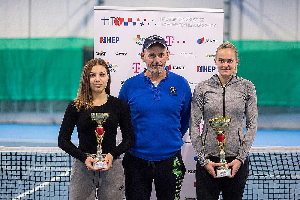 Iva Primorac je na terenima Viroexpa postala nova seniorska dvoranska prvakinja Hrvatske