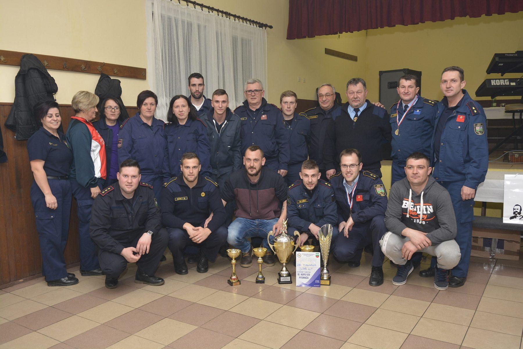 Fotogalerija: U spajanju usisnog voda prva mjesta Turnašici, Gornjem Bazju i Virovitici