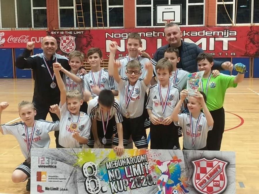 Fotogalerija: Momčad Slaven Belupa osvojila naslov na 8. Međunarodnom No Limit kupu u kategoriji U-11